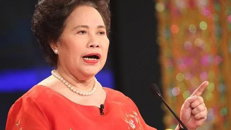 Words of Wisdom from Miriam: The Iron Lady of Asia