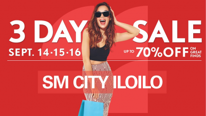 Reasons to Shop at SM City Iloilo on its Big Sale