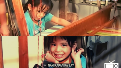 Amazing 5-year Old Hablon Weaver from Miagao, Iloilo Featured on National TV
