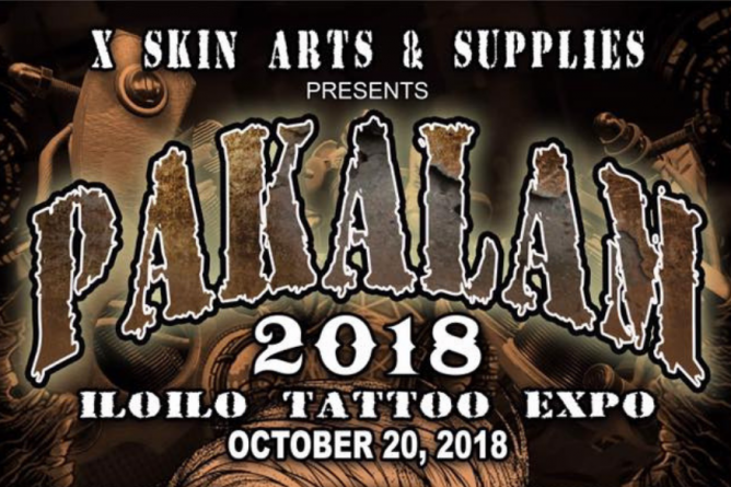 Pakalam Iloilo Tattoo Expo 2018 Happening This Saturday, October 20